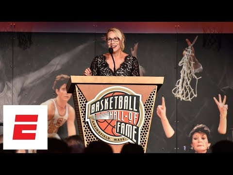 Doris Burke thanks LeBron James, Chris Paul in Curt Gowdy Media Award speech | ESPN