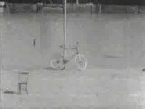 Првиот велосипедски трик - од Томас Едисон