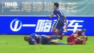 Những màn bạo lực của bóng đá Hàn Quốc không kém bóng đá Trung Quốc - Video bóng đá