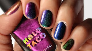 Holo Taco Multichrome Nail Polish Swatches