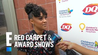 Tia Mowry Clears Up Charlize Theron Snub Comment | E! Live from the Red Carpet
