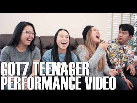 GOT7 (갓세븐)- Teenager (Performance Video) (Reaction Video)