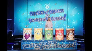 Adorable Ellen Fan Gets Lucky with 'Bucket o' Dreams or Bucket o' Ice Creams'