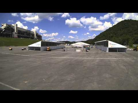 "Fanatics NASCAR Trackside Superstore Timelapse - ""Gearing Up"""
