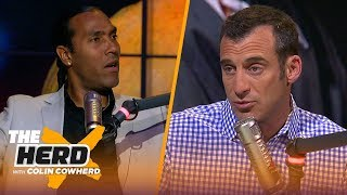 T.J. Houshmandzadeh: Pats are not being overvalued, talks Mack trade & Big Ben | NFL | THE HERD