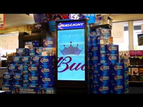 ANHEUSER-BUSCH TAPS AERVA TO POWER DIGITAL COOLER DISPLAYS