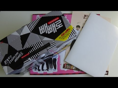 Unboxing EXO 엑소 PEPERO Special Edition Set