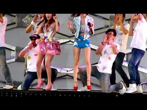 [Fancam]120609 Jessica&Krystal - California Girls  SMT In Taiwan