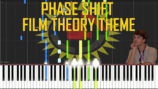Carf Darko - Phase Shift (Film Theory Intro Theme) [Synthesia Piano Tutorial]