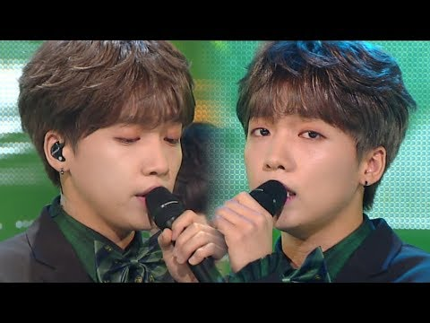 《LOVE SONG》 JEONG SEWOON(정세운) - BABY IT'S U @인기가요 Inkigayo 20180218