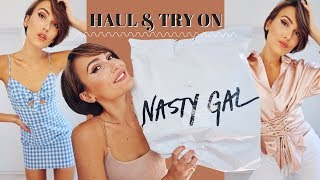 NASTY GAL HAUL & TRY ON - SUMMER CLOTHING HAUL | Blaise Dyer