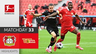 Bayer 04 Leverkusen - Union Berlin | 1-1 | Highlights | Matchday 33 – Bundesliga 2020/21
