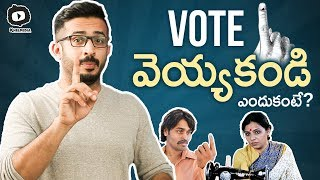 Election Day by Anchor Ravi   Use Your Valuable VOTE   Telangana Elections 2018   Khelpedia