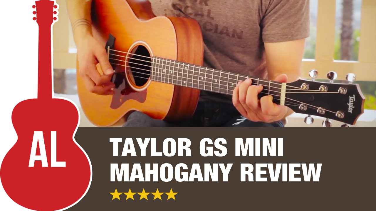 taylor gs mini mahogany review how does it sound youtube. Black Bedroom Furniture Sets. Home Design Ideas