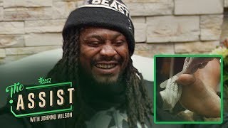 Marshawn Lynch Gets A Pedicure and Drops Some Knowledge | The Assist