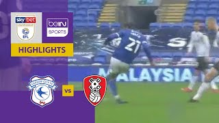 Cardiff City v Rotherham United | EFL Championship 20/21 | Match Highlights