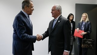 Sergey Lavrov & Rex Tillerson start tough talks in Moscow, Russia amid increased tensions