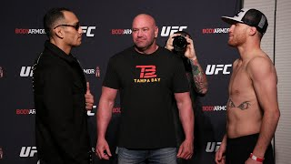 UFC 249: Weigh-in Faceoffs