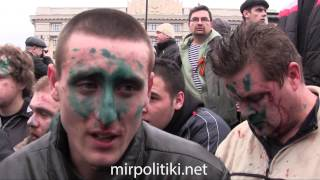 Извинение бойцов «Правого сектора» (бандеровцев) перед харьковчанами