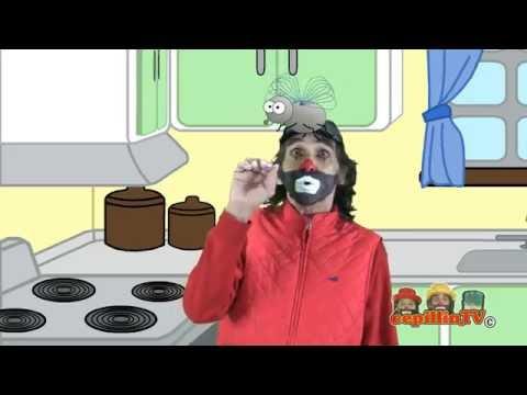 Cepillin y Cepi ( UNA MOSCA PARADA EN LA PARED ) VIDEOCLIP OFICIAL