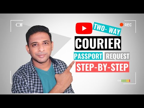 Two-Way Courier for Passport Request (PPR) That You Should Watch!