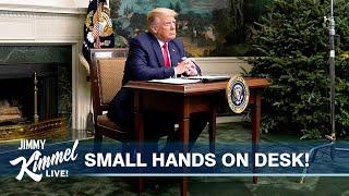 Trump Throws Tantrum from Tiny Desk