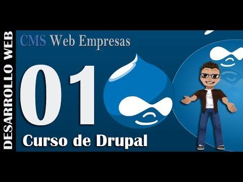 1. Curso de Drupal 7: Instalación de Drupal y Traducción al Español