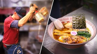 What It Takes to Make 400 Bowls of Ramen From Scratch •Tasty