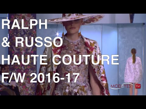 RALPH & RUSSO | FALL WINTER 2016 | FULL FASHION SHOW