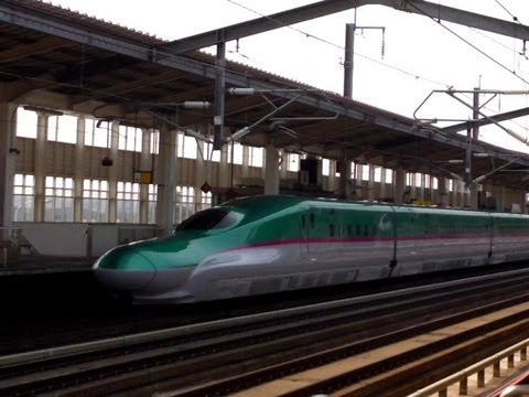 Baixar Hayabusa Shinkansen - Fastest Bullet Train in Japan as of May 2013