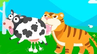 Kids Learn Animals Names and Sounds with Baby Panda   Animals Paradise Educational Game For Kids