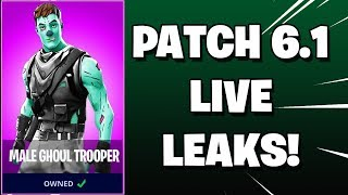 🔴 FORTNITE: PATCH v6.1 LIVE LEAKS AND FINDS! (Showcasing Early) | !join | Super Chat ENABLED! ✔