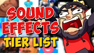The SOUND EFFECTS Tier List