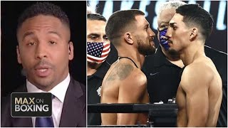 Andre Ward breaks down Vasiliy Lomachenko vs. Teofimo Lopez | Max on Boxing