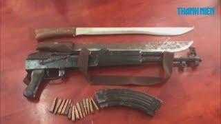 Hẹn đánh nhau, 9X vác súng AK bắn doạ đối thủ