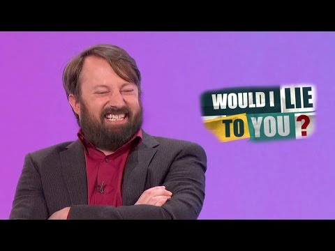 Barbigerous Harbinger of Exuberance - David Mitchell on Would I Lie to You? [HD] [CC]