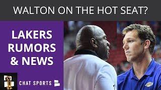 Lakers Rumors: Anthony Davis Trade, Luke Walton Hot Seat, LeBron James Injury Update