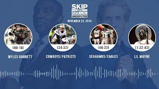 Myles Garrett, Cowboys/Patriots, Seahawks/Eagles, Lil Wayne | UNDISPUTED Audio Podcast