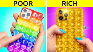 OH NO, I AM BROKE!    Rich Hacks And Tricks To Become Popular by 123 GO! GOLD