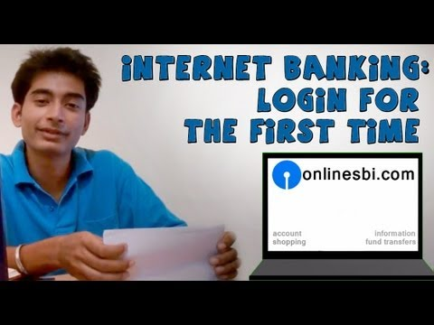 SBI online banking(Part 1)- Login for the first time using internet kit