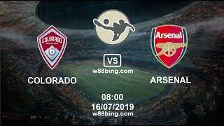 Soi kèo bóng đá Colorado Rapids vs Arsenal, 08h00 ngày 16/7: Giao hữu CLB