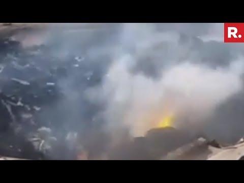 Trainee Aircraft Crash In Bahupeta, Telangana
