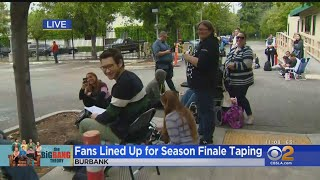 'Big Bang Theory' Fans Camp Out For Tickets To The Show's Final Taping
