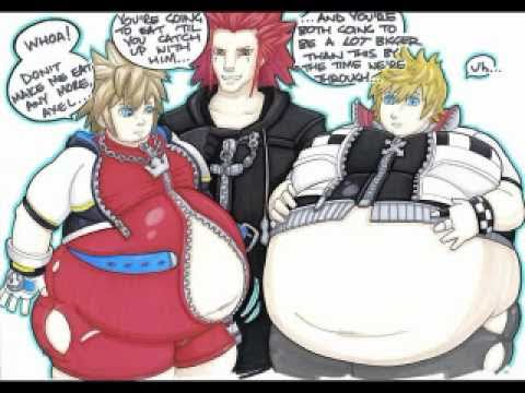gain weight story anime Fat