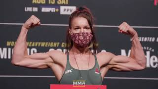 UFC 252 Official Weigh-In Highlights  MMA Fighting