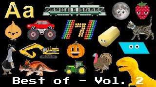 The Best of the Kids' Picture Show Volume 2 - Learn Shapes, Colors, Vehicles, Animals, & More!