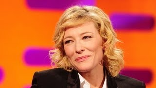 Cate Blanchett Explains her 'Bottom Double' - The Graham Norton Show - S11 E1 - BBC One