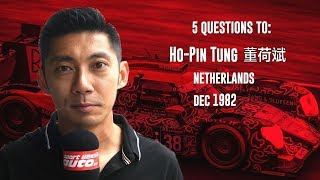5 Questions to race driver Ho-Pin Tung