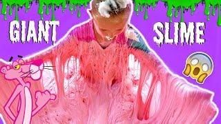DIY GIANT FLUFFY SLIME! 300 POUNDS of Slime!