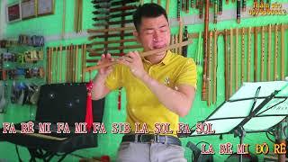 CHỈ LÀ KHÔNG CÙNG NHAU | Nhạc Hoa |  Cover Sáo Trúc Thắm Sáo (Bb4 0975850812)